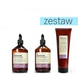 Insight Damaged Hair Zestaw do Zniszczonych Włosów Szampon 400ml Odżywka 400ml Maska 250ml