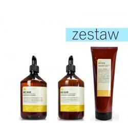 Insight Dry Hair Zestaw do Suchych i Matowych Włosów Szampon 400ml Odżywka 400ml Maska 250ml