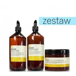Insight Dry Hair Odżywczo Nawilżający Zestaw do Włosów Suchych Matowych Szampon 900ml Odżywka 900ml Maska 500ml