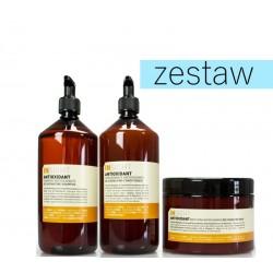 Insight Antioxidant Odmładzający Zestaw do Włosów Szampon 900ml Odżywka 900ml Maska 500ml