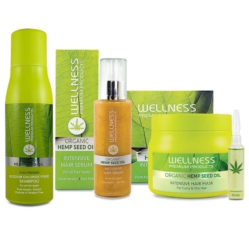 Wellness Premium Products Zestaw Szampon 500ml Maska 500ml ...