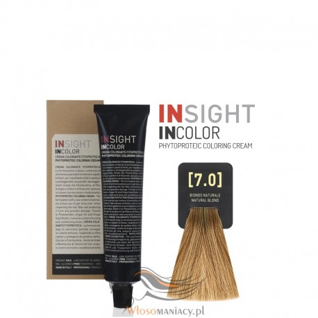 Insight 7.0 Natural Blond Krem Koloryzujący 60ml