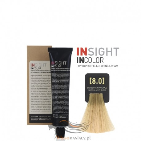 Insight 8.0 Natural Light Blond Krem Koloryzujący 60ml