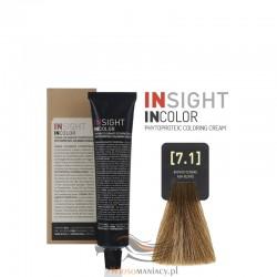Insight 7.1 Ash Blond Krem Koloryzujący 60ml