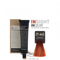 Insight 7.44 Coppery Deep Blond Krem Koloryzujący 60ml