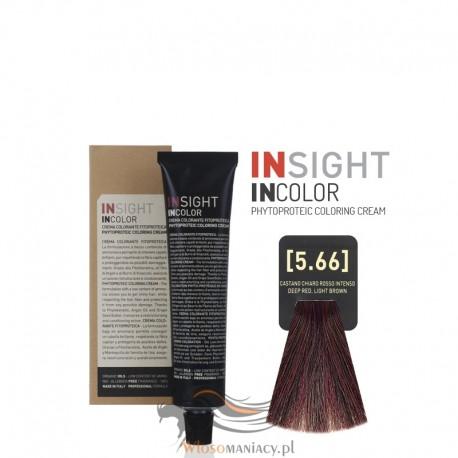 Insight 5.66 Deep Red Light Brown Krem Koloryzujący 60ml