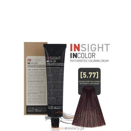 Insight 5.77 Deep Purple Light Brown Krem Koloryzujący 60ml