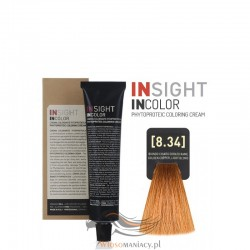 Insight 8.34 Golden Copper Light Blond Krem Koloryzujący 60ml