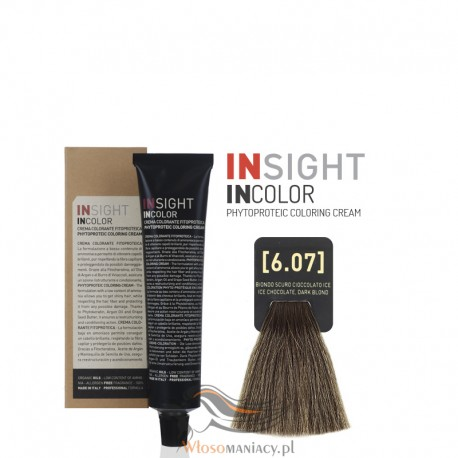 Insight 6.07 Ice Chocolate Dark Blond Krem Koloryzujący 60ml