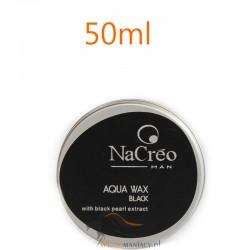 NaCreo Man Koloryzujący Wosk Modelujący do Włosów Czarny 50ml