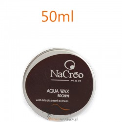 NaCreo Man Koloryzujący Wosk Modelujący do Włosów Brązowy 50ml