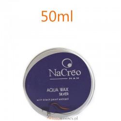 NaCreo Man Koloryzujący Wosk Modelujący do Włosów Srebrny 50ml