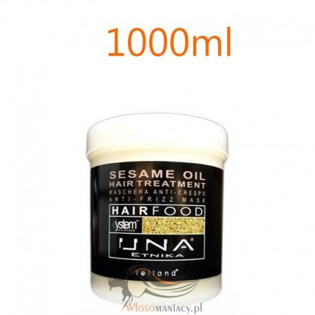 Una Maska Sezamowa Sesame Oil Hair Treatments  1000ml