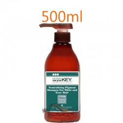 Saryna Key Szampon Neutralizujący do Włosów Siwych i Białych Neutralizing Pigment Shampoo 500ml