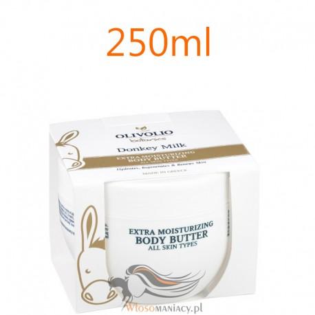 Olivolio Masło do Ciała Instesywnie Nawilżające z Organicznym Oślim Mlekiem 250ml