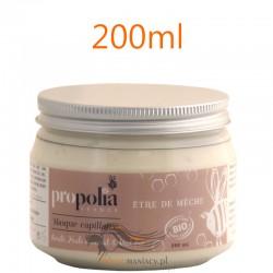 Propolia BIO Maska Organiczna do Włosów z Miodem Masłem Shea Olejkiem z Awokado 200ml