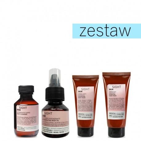 Insight Skin Zestaw Mini Żel pod Prysznic+Olejek+Krem do Ciała+Krem do Rąk