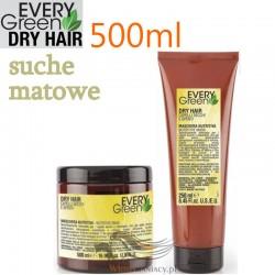 Every Green DRY HAIR Maska do Włosów Suchych Matowych bez Objętości 500ml