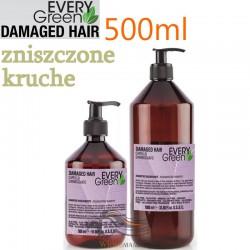 Every Green DAMAGED HAIR Szampon do Włosów Kruchych Zniszczonych 500ml