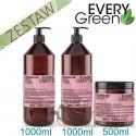 Every Green COLORED HAIR Włosy Farbowane Ochrona Koloru Zestaw Promocyjny Szampon 1000ml Odżywka 1000ml Maska 500ml