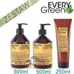 Every Green ANTIOXIDANT Codzienna Pielęgnacja Zestaw Promocyjny Szampon 500ml Odżywka 500ml Maska 250ml